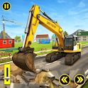 Excavator City Construction : Construction Games icon