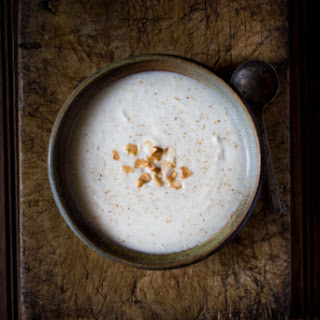 Cauliflower and Coconut Milk Soup.