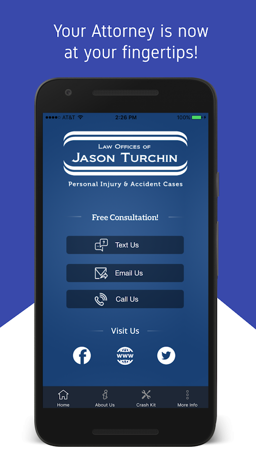 My Attorney App: Jason Turchin- screenshot