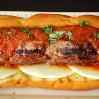 The Ultimate Meatball Sandwich