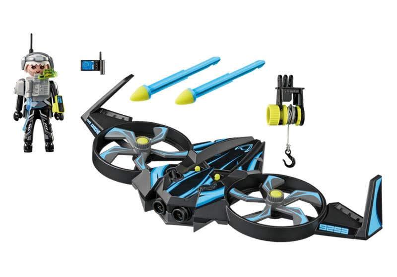 Contenido Real de Playmobil® 9253 Megadrone