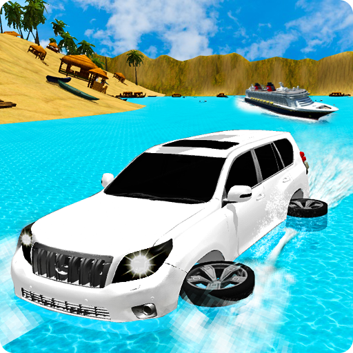 Beach Jeep Water Real Surfing
