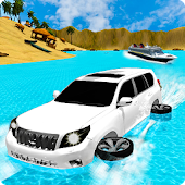 Super Jeep Water Beach Real Surfing