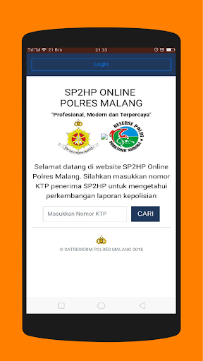 Malang E-Policing 1.2.1 screenshots 8