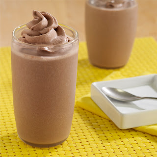 Chocolate Peanut Butter Banana Smoothies.