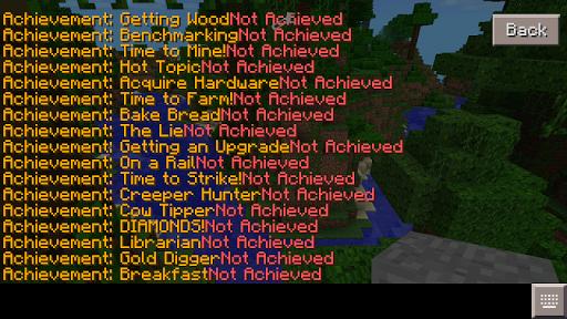 Achievements for Minecraft PE 2.0 screenshots 3