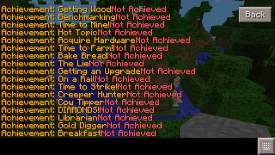 Achievements for Minecraft PE screenshot