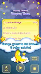 Nursery Rhymes Sleeping Music screenshot 0