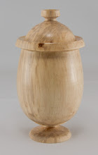 "Photo: Gary Guenther 4"" x 7"" urn [maple]"