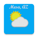 Mesa, AZ - weather icon