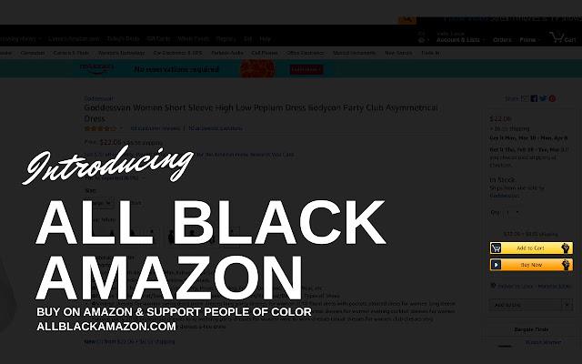All Black Amazon