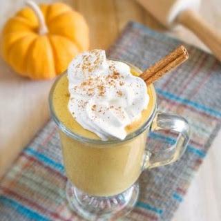 Vegan Pumpkin Pie Milkshake
