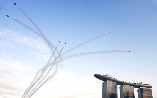 SG50 Aerial Show 360VR