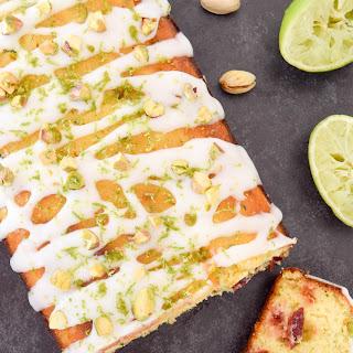 Morello Cherry & Lime Courgette Cake Recipe