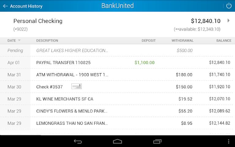 android BankUnited Screenshot 11