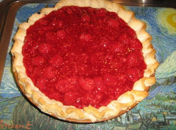 Fresh Raspberry Pie!