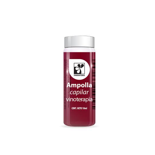 Ampolla Capilar Farmatodo Vinoterapia 10Ml
