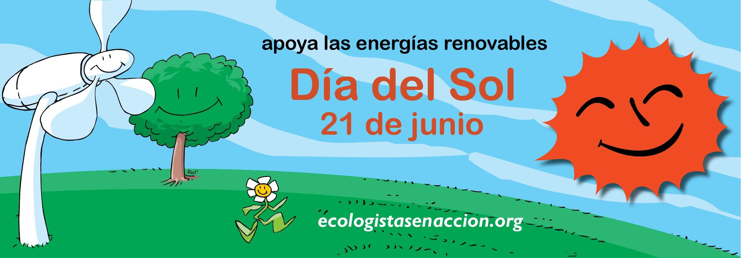 Día del Sol • Ecologistas en Acción