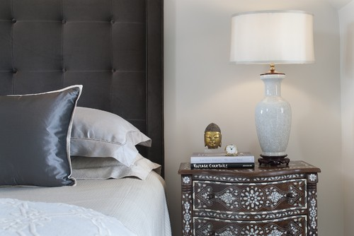 nightstand decor: Use Books As A Pedestal