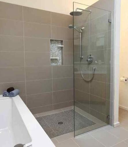 浴室のシャワーデザインのアイデア