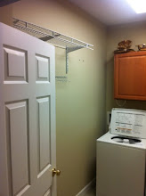 Photo: This is (was) my laundry room.