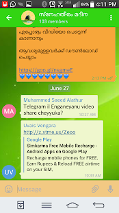 Telegram +- screenshot thumbnail