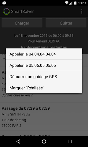 android SmartSolver Screenshot 2