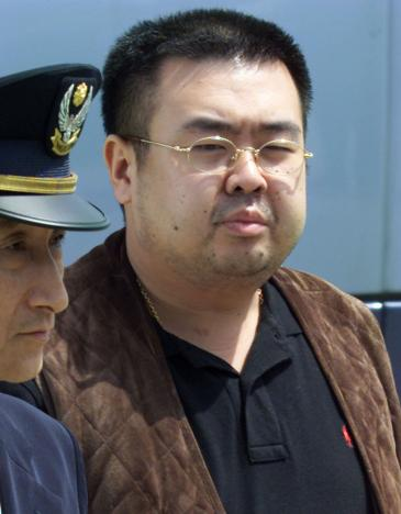 Kim Jong-Nam, the older half brother of the North Korean leader, Kim Jong-Un. Picture: REUTERS