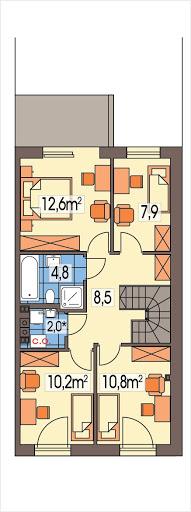 Katrina segment prawy - Rzut piętra