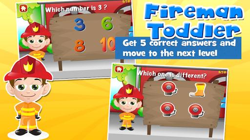 Fireman Toddler School Free screenshots apkspray 3