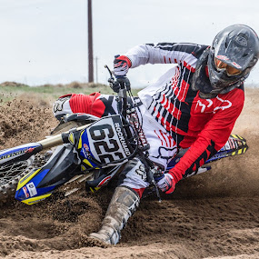 Sand Surfing by Zachary Zygowicz - Sports & Fitness Motorsports ( sand, surfing, motocross, racing, dirtbike, motorcycle, mx )