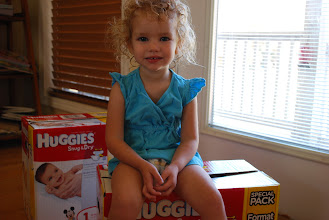 Photo: That's right, I'm a Huggies baby!