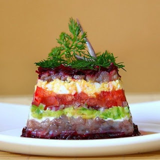 Herring and Vegetable Salad