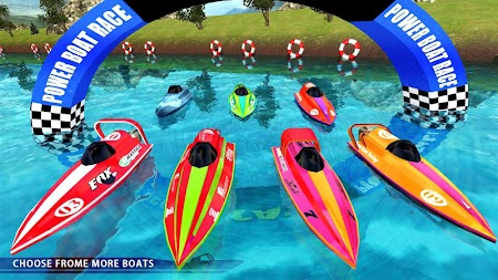 Powerboat Race 3D APK screenshot thumbnail 2