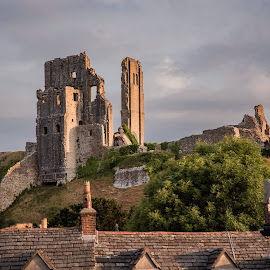 Corfe village by Roy Hornyak - Buildings & Architecture Public & Historical