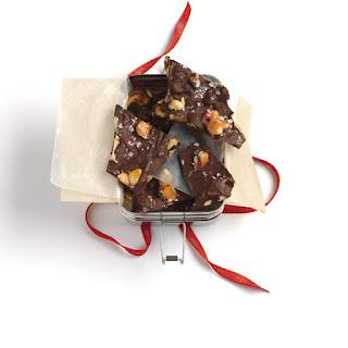 Chocolate-Almond Bark with Sea Salt