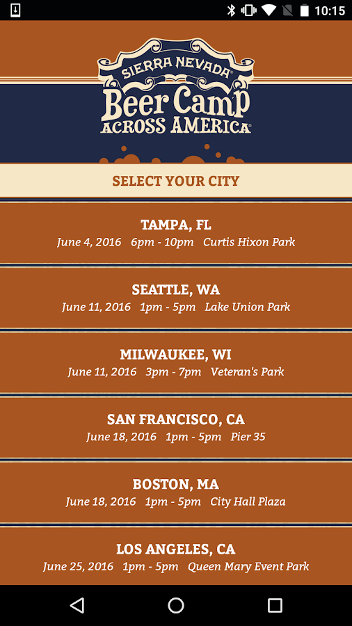 Beer Camp Across America- screenshot
