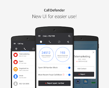 Call Defender- screenshot thumbnail