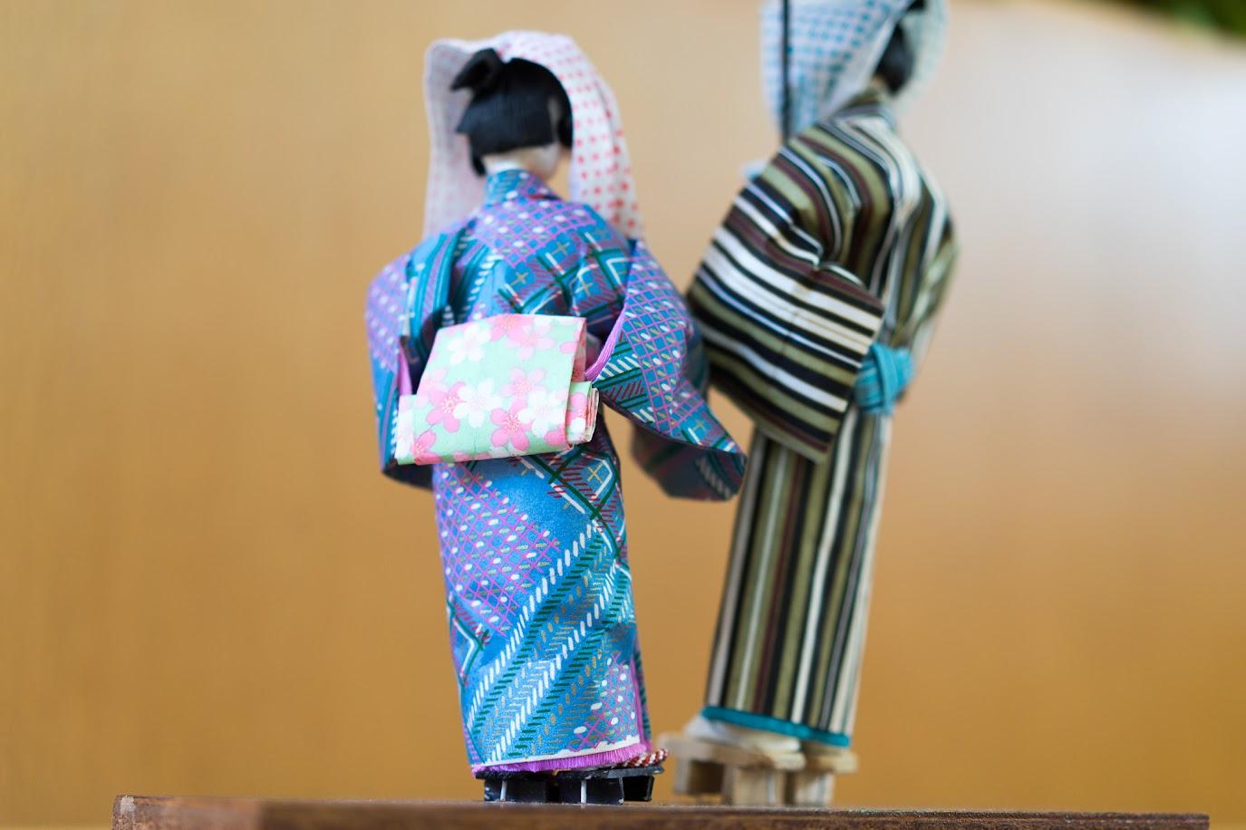 和紙人形:矢切の渡し