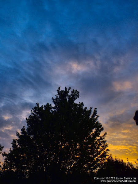 Photo: AccuFan Weather Photo of the Day: Sunset on June 10, 2012 in Beavercreek, Ohio by Joseph Griffin Lee. http://ow.ly/bve8A