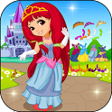 Princess Carriage Dress Up icon