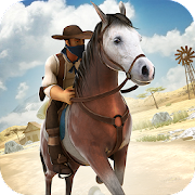 Download Game Western Cowboy - Horse Racing