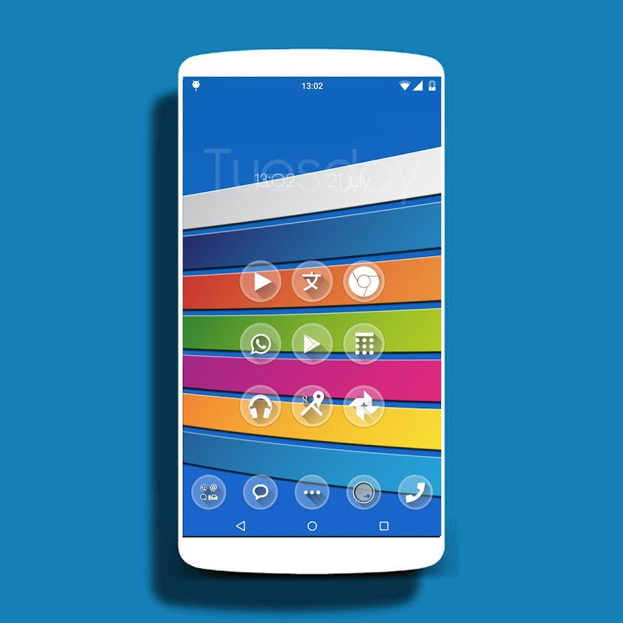 UNO - icon pack Theme HD- screenshot