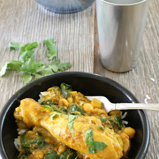 Indian Spiced Chicken with Chickpeas