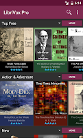 Screenshot of LibriVox Audio Books Free