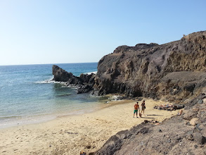 Photo: playa blanca + yellow beaches at costa de papagayo in the very south