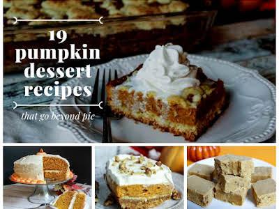 19 Pumpkin Dessert Recipes That Go Beyond Pie