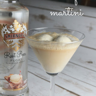 Root Beer Float Martini.
