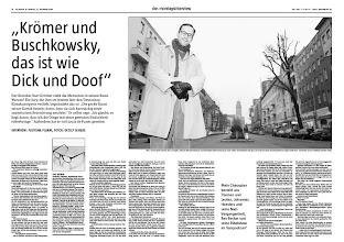 Photo: kurt kroemer taz die tageszeitung montagsinterview repro pdf (c) Detlev Schilke/detschilke.de  [ Photographie copyright (c) Detlev Schilke / detschilke.de , Postfach 35 08 02 , 10217 Berlin , Germany , Mobile/Cell.: +49 (0)170 3110119 , Mail: photo@detschilke.de , Bank-Account: P o s t b a n k Berlin , Kto.: 970 880 101 , BLZ: 100 100 10 , IBAN: DE08 1001 0010 0970 8801 01 , BIC: PBNKDEFF , VAT-No./USt.-ID: DE160478504 - 7% USt. , Jegliche Nutzung des Fotos nur gegen Honorar laut MFM, Urhebervermerk und Belegexemplare! Verwendung des Bildes ausserhalb journalistischer Nutzung bedarf besonderer Vereinbarung. Only editorial use, advertising after agreement! Kein schriftliches Modelrelease vorhanden! No Modelrelease! No Property Release! , Details at: www.detschilke.de ]