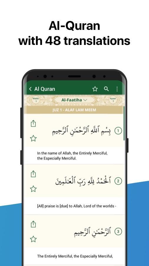 Athan: Prayer Times, Azan, Quran & Qibla Finder Screenshot 4